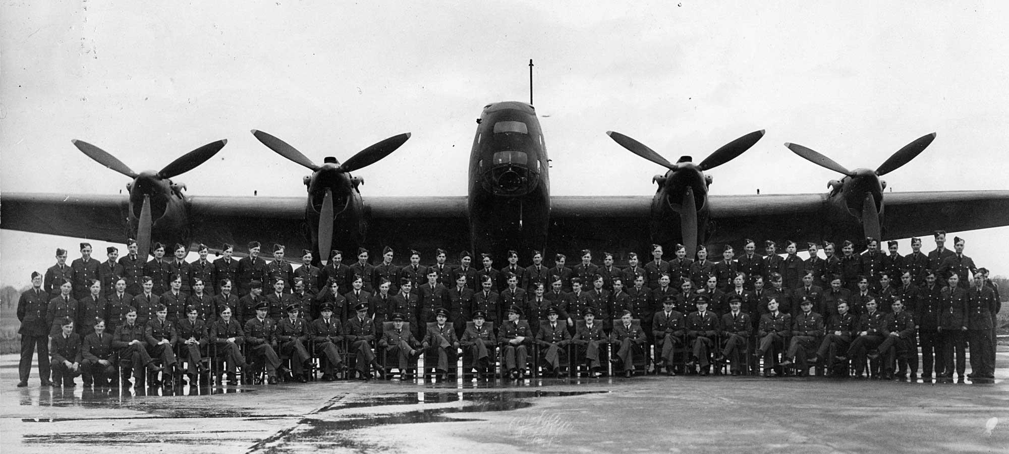 Halifax bomber - Merlin engines
